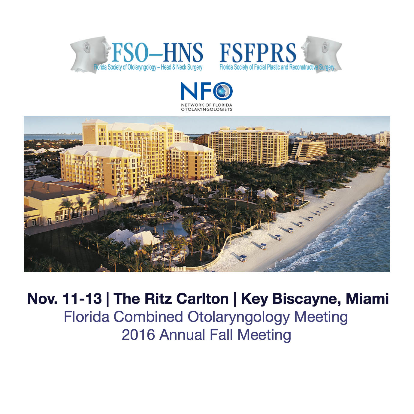 Nov. 11-13 | The Ritz Carlton | Key Biscayne, Miami