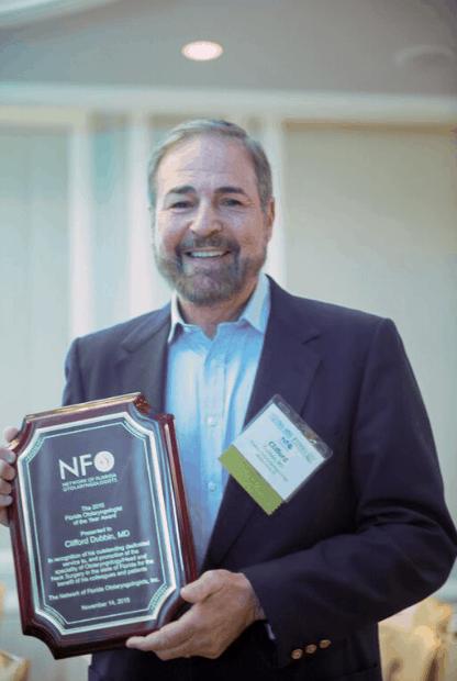 Clifford B. Dubbin, MD Otolaryngologist of the year 2015
